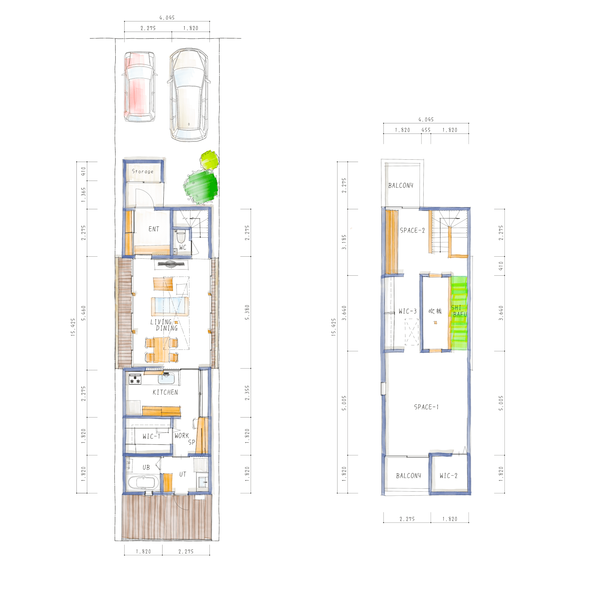 Do-Ma岡崎モデルハウスの間取り図