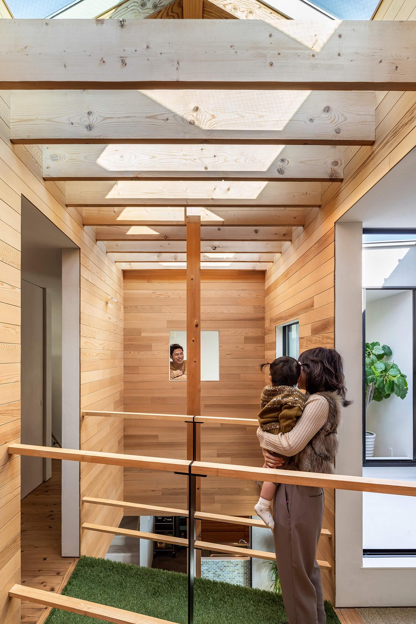 Do-Ma岡崎モデルハウス|天窓のある家